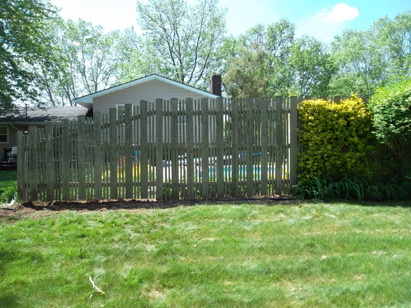 Residential Wood Fencing30