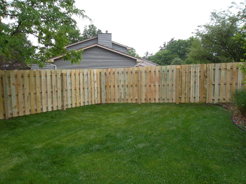 Residential Wood Fencing23
