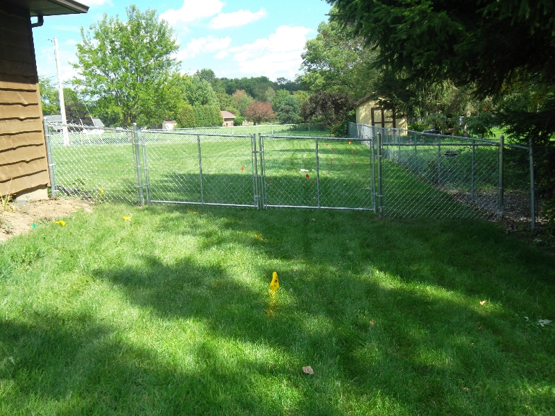 Residential Chain Link Fencing5