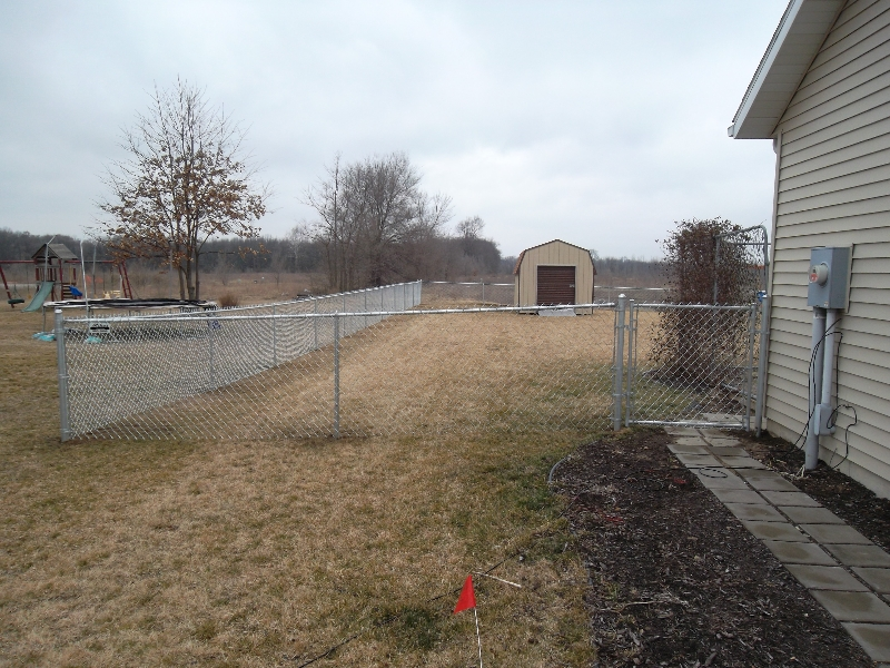Residential Chain Link Fencing6