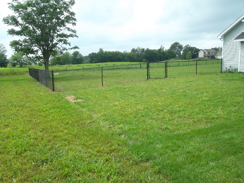 Residential Vinyl Chain Link Fencing16