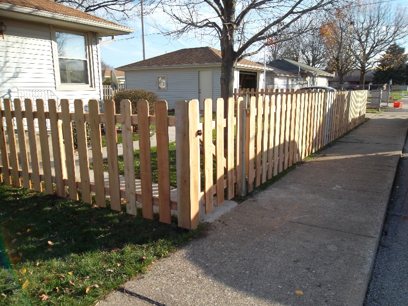 Residential Wood Fencing20