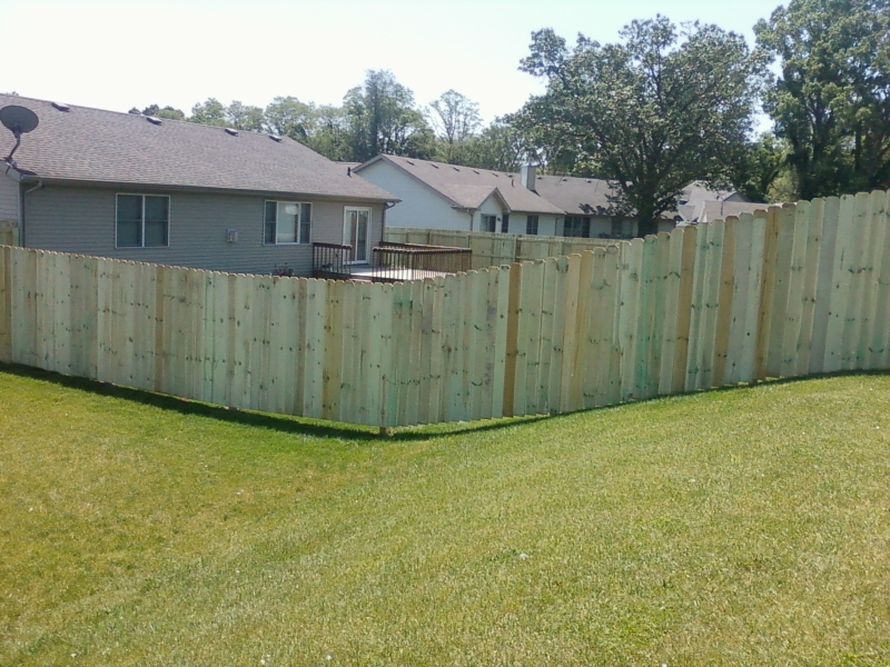 Residential Wood Fencing12