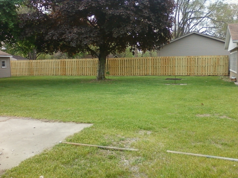 Residential Wood Fencing9
