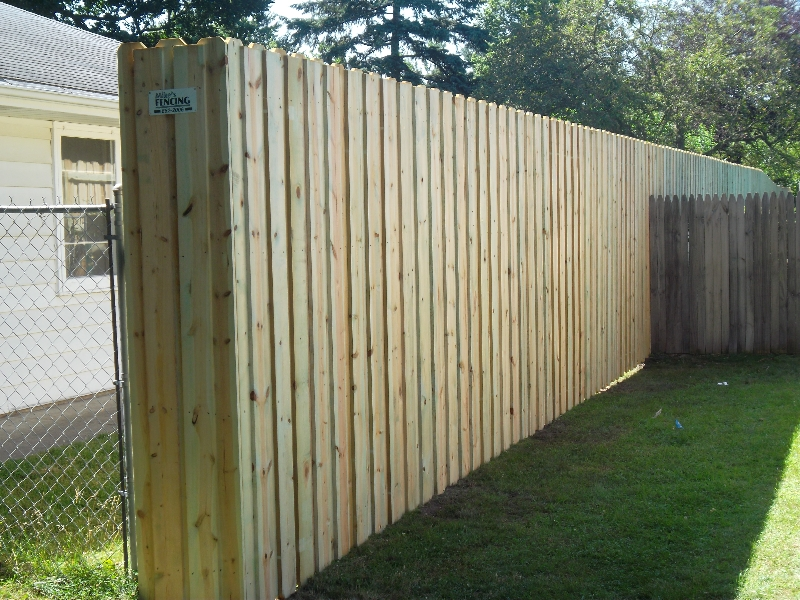 Residential Wood Fencing8