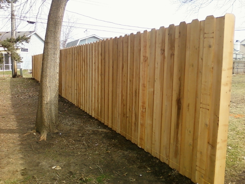 Residential Wood Fencing7